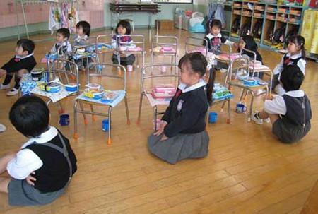 Những bài học mẫu giáo tốt nhất ở Nhật là vào giờ ăn trưa