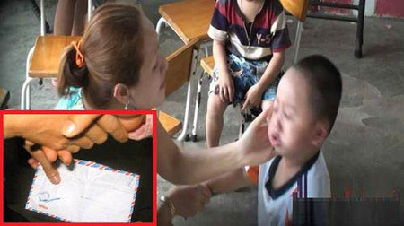 Hình ảnh bạo hành trẻ ở cơ sở mầm non tư thục quận Thủ Đức, TP.HCM
