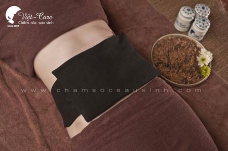 Quấn muối thuốc là phương pháp giảm mỡ bụng sau sinh nhanh nhất