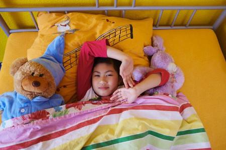 Những đứa trẻ nếu đi ngủ sớm thì sẽ ít có thái độ và hành vi xấu.