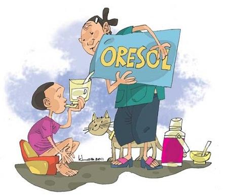 Dung dịch oresol đã cứu hàng triệu trẻ em bị tiêu chảy cấp khỏi tử vong.