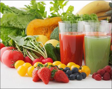 """Nước ép từ rau củ và trái cây là """"món tủ"""" của nhiều mẹ bầu"""