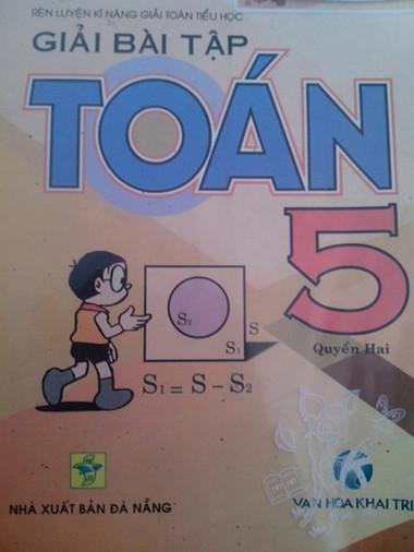 Cuốn sách được cho là đầy 'sạn' được khá nhiều học sinh lớp 5 dùng.