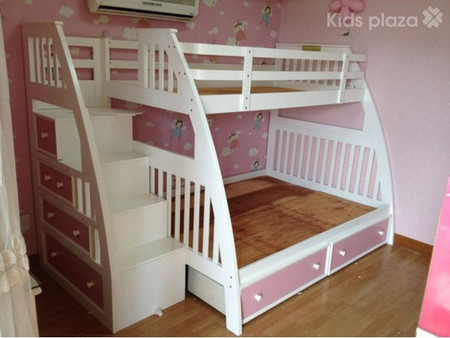 Một chiếc giường tầng đẹp và an toàn cho bé