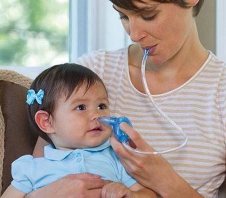 Lưu ý khi sử dụng dụng cụ hút mũi cho con