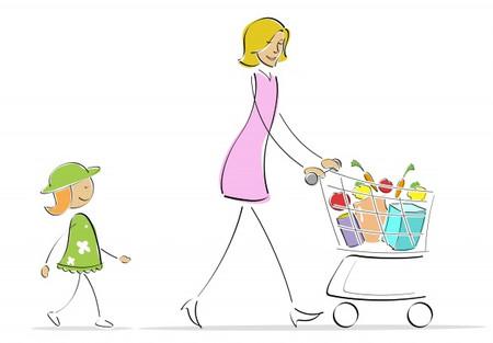 Một ngày của bà mẹ ở nhà chăm con có rất nhiều hoạt động ý nghĩa.