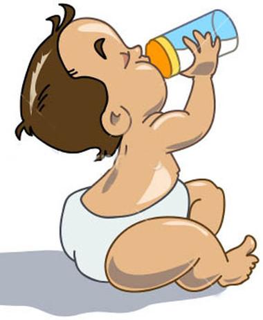 Bé dưới 1 tuổi cần tránh sữa bò và sữa đậu nành