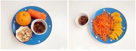 Salad cam bổ sung vitamin C cực kỳ hữu hiệu cho bé trong mùa hè