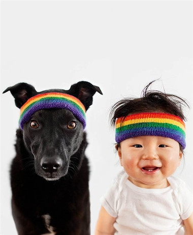 Cậu bé đáng yêu Jasper và cô chó Zoey