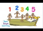 Five Little Monkeys (5 chú khỉ con)